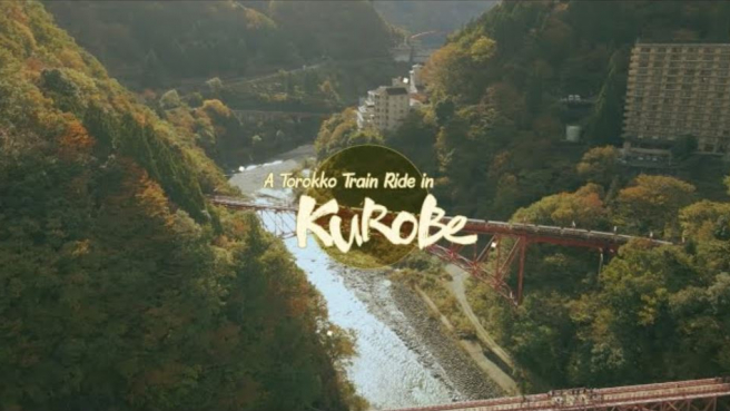 A Torokko Train Ride in Kurobe ・ Kurobe Gorge, Outdoor Onsen, and Beautiful Fall Weather