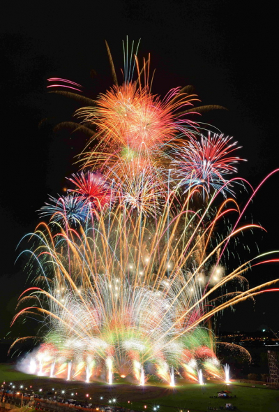 55th Katsushika Fireworks Festival (Tokyo)