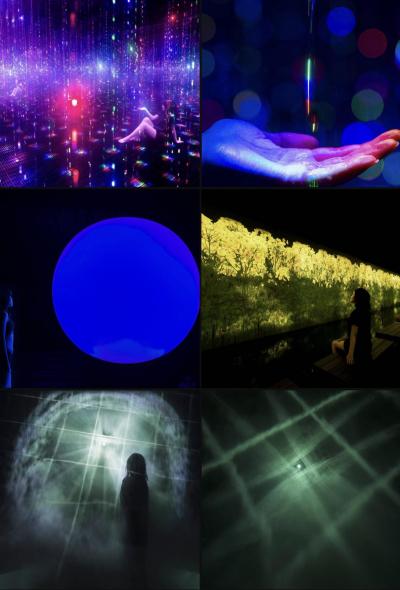 teamLab Reconnect數位藝術三溫暖 全新「混浴」桑拿體驗
