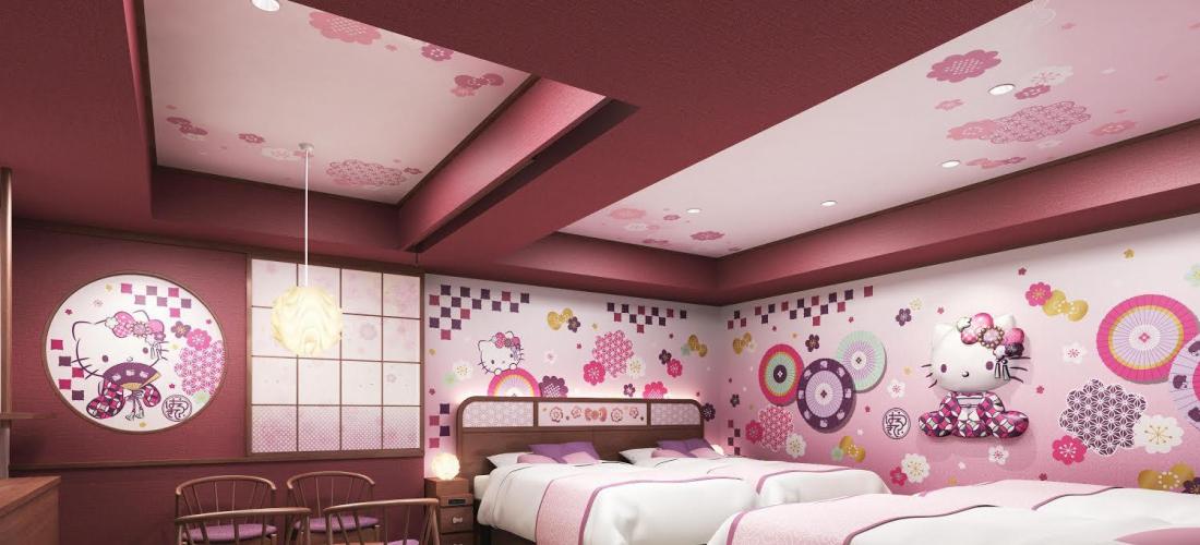 東京23區唯一!Hello Kitty主題房間淺草東武飯店誕生  預約8月開跑