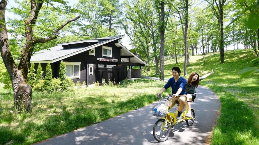 도쿄에서 1시간이면 도착하는 힐링 여행지 - 가루이자와 자전거 여행기