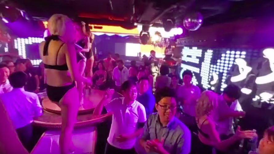 日本夜店体验~东京六本木CLUB的正统舞蹈表演