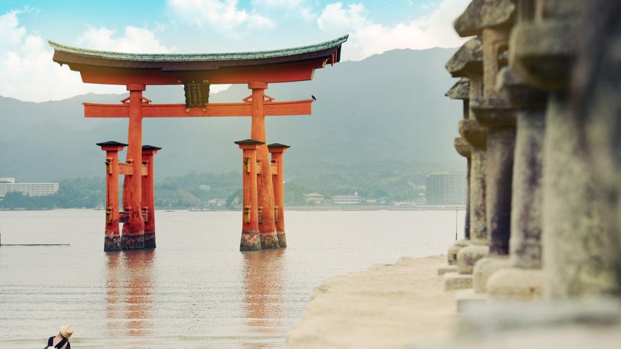 广岛旅游攻略★世界遗产严岛神社的魅力观光