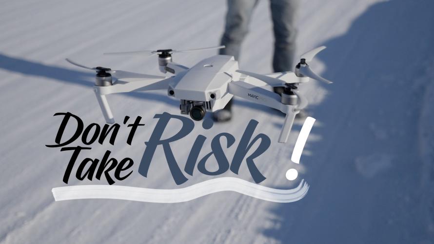 DRONE   Ne Prenez Aucun Risque!