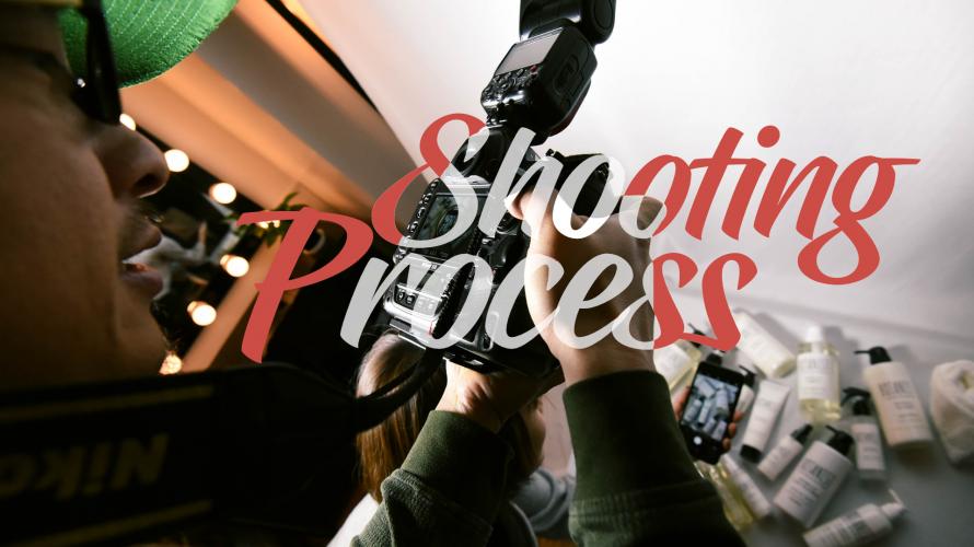 SHOOTING   5 Etapes dans un Shooting Pro