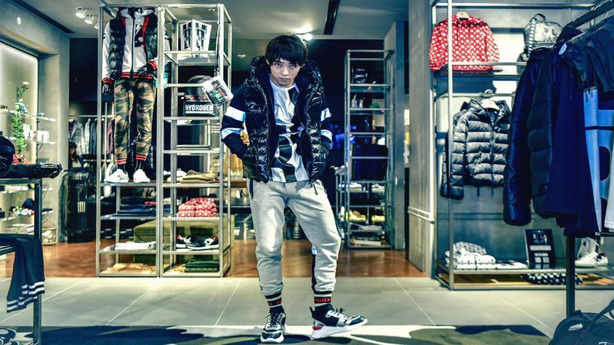 Shopping à Omotesando Hills|💀Hydrogen💀 une marque de vêtements de sport qui a la côte au...