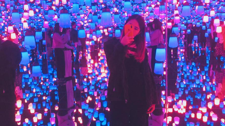 Trải nghiệm thế giới nghệ thuật ảo diệu tại Tokyo Odaiba- TEAMLAB BORDERLESS
