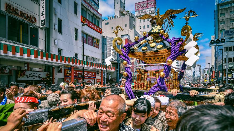 Lễ hội Sanja ở Asakusa đang đến gần! Hãy nhanh chân lên nào!!
