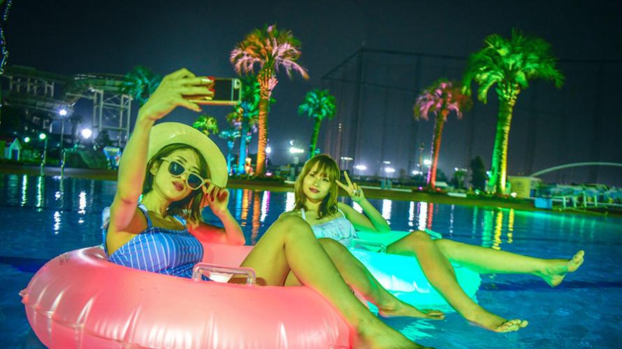 Top 5 những bể bơi nên tới tại mủa hè này !! Chỉ có tại TOKYO!