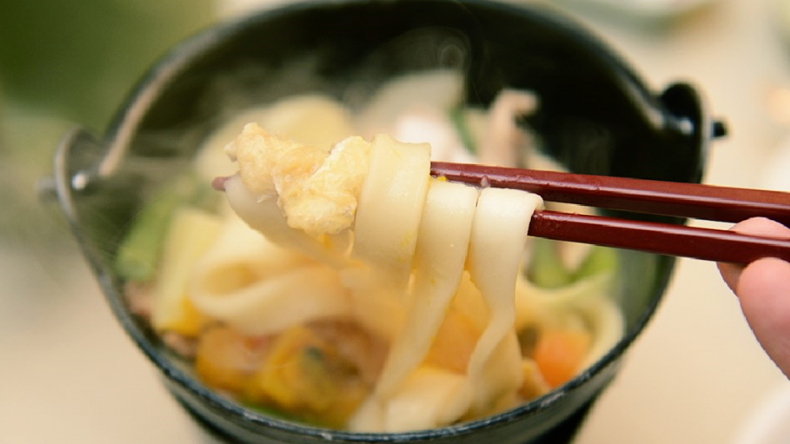 Hoto Noodles ・ A Local Specialty From Mount Fuji