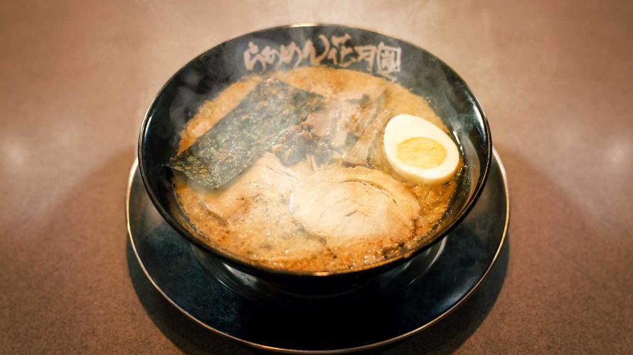 浓口就爱这一味 道地花月岚拉面当然要在日本吃