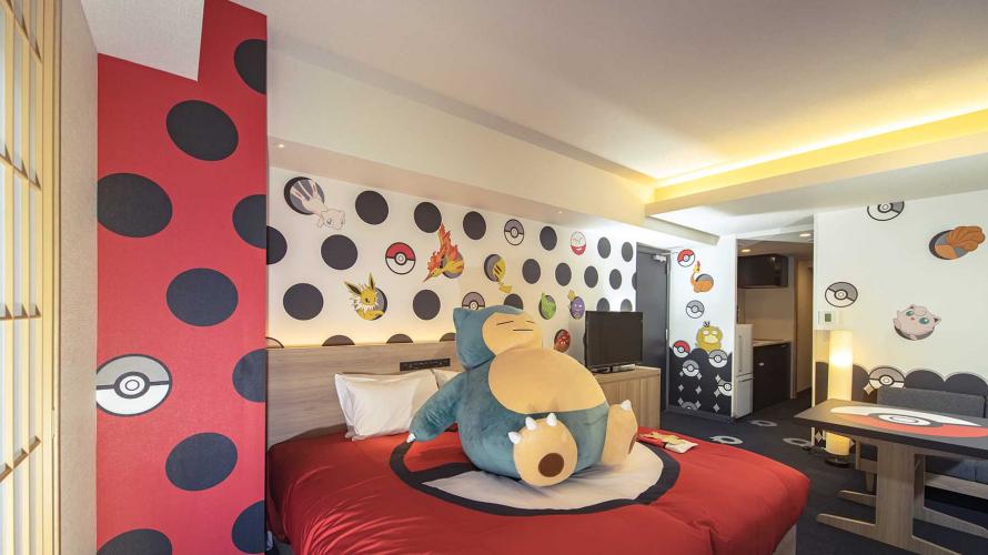 粉絲注意!日本MIMARU飯店寶可夢主題套房開幕  卡比獸床上等你