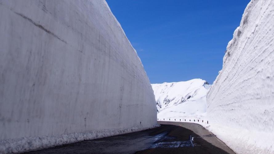 2020黑部立山開山全線開通  雪之大谷雪壁散策中止