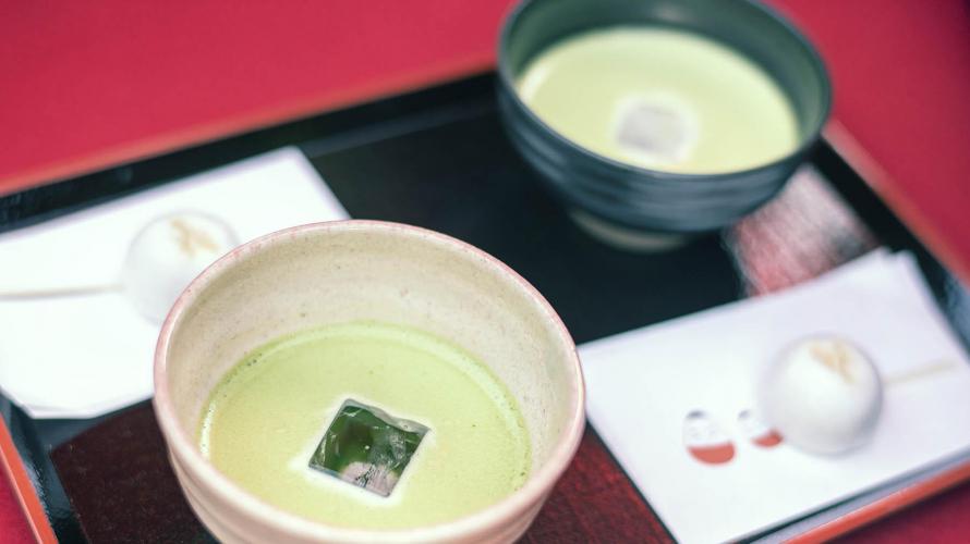아이즈와카마츠시  여름에는 차가운 말차 한잔.  츠루가성의 다실 린카쿠(茶室麟閣)