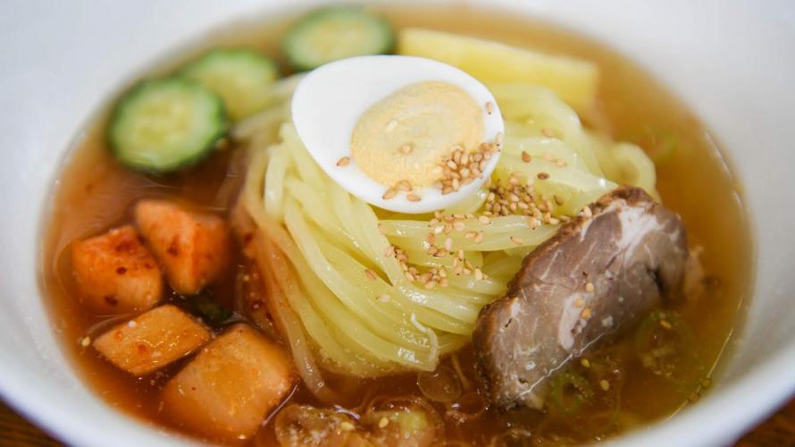 盛岡市 三代麺の一つ 盛岡冷麺