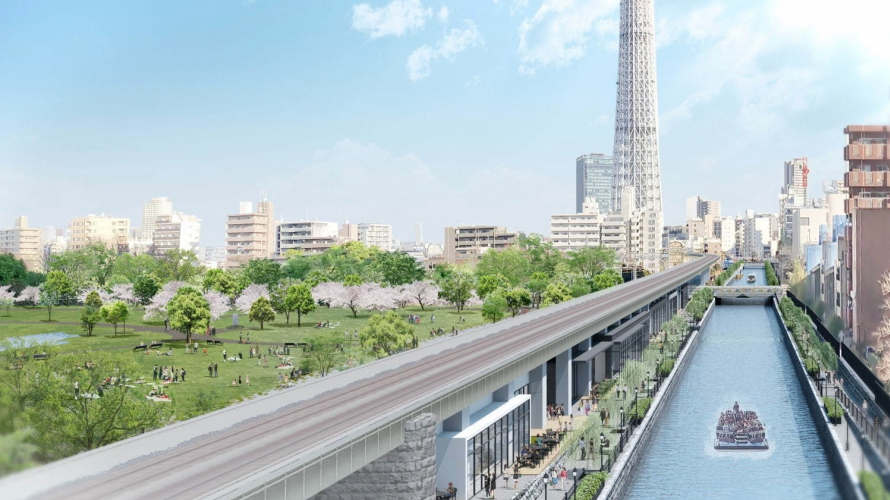 Asakusa Will Be Closer to Tokyo Skytree Than Ever in 2020