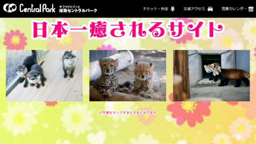 웹사이트가 더 재밌다는 '일본에서 가장 힐링되는 사파리' !?