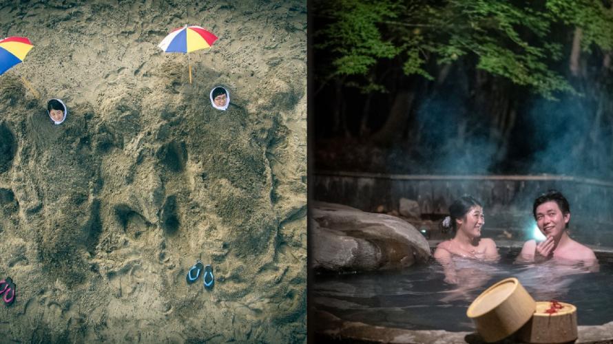 砂VS湯 真逆のふたつの温泉で癒される鹿児島の旅