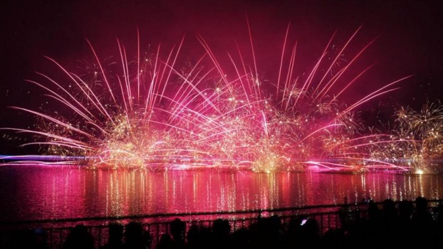 일본코로나 자숙중 2020년 일본불꽃축제 개최하는 나스린도코 레이크뷰가 스고이!
