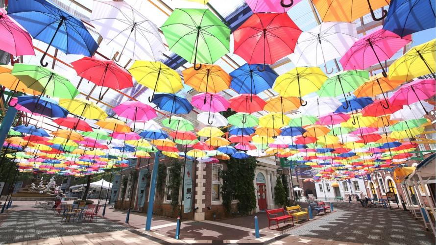 5 Popular Umbrella Sky Spots in Japan - A New Way to Enjoy Rainy Season