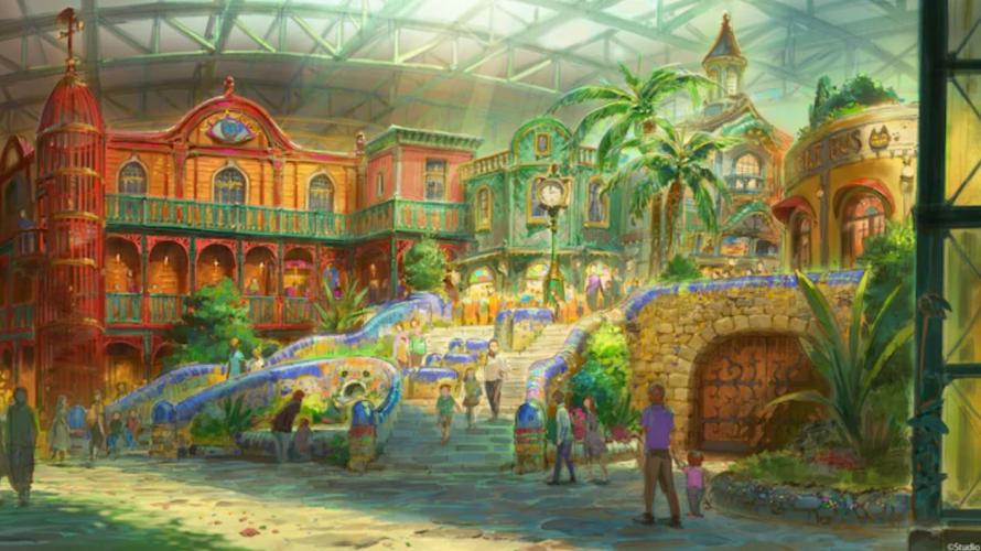 2022년 가을 개장 예정인 스튜디오 지브리 테마 파크 건설이 스타트!