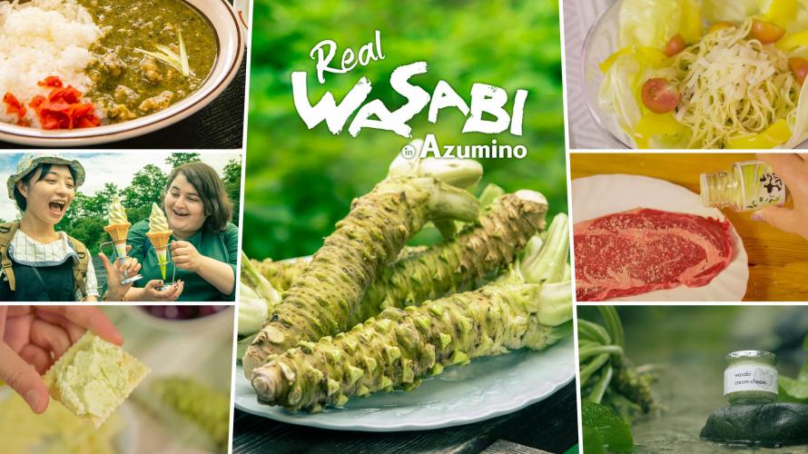 Hương vị Nhật Bản ở Azumino ! Những món ăn đặc biệt được làm từ Wasabi