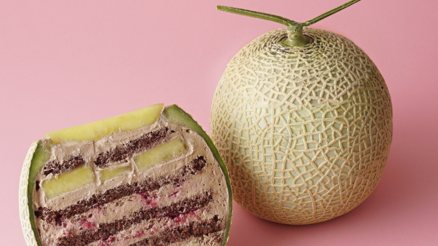 Japanese Whole-Melon Cake (Marugoto Melon Cake) Is the Hottest New Trend on Instagram