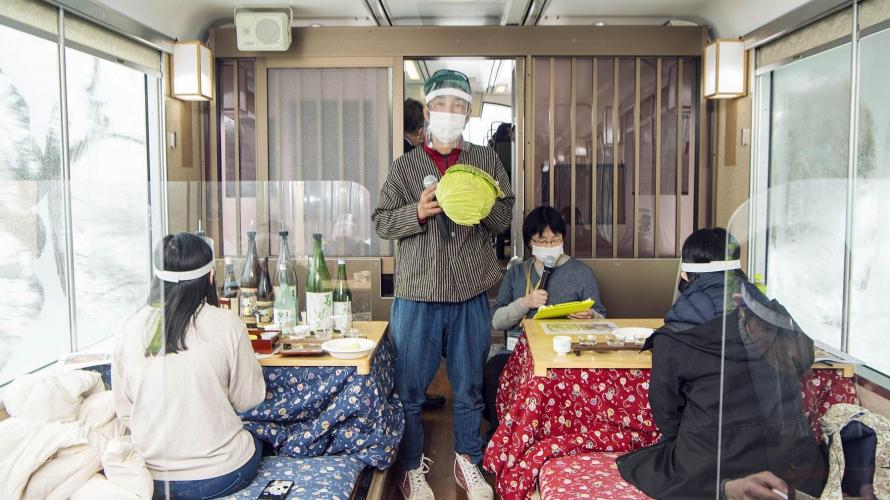 Traveling Through Aizu ① Japanese Gardens, Trains, & Gourmet Experiences in Aizuwakamatsu