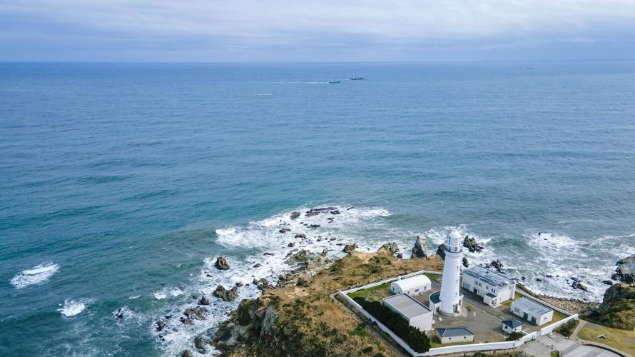 千葉銚子犬吠埼燈塔看海去!白色郵筒與濱海咖啡店TERASU TERRACE
