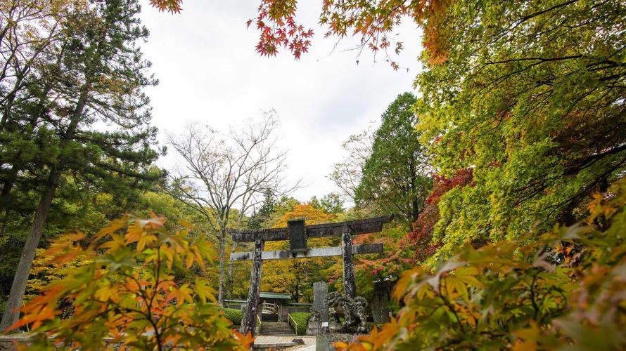 日本關東賞楓紅葉秘境景點  栃木古峯神社與古峯園