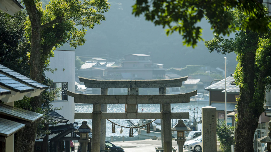 Secrets of San'in   Discover Miho Shrine's Peaceful Enclave in a Tiny Matsue Harbor