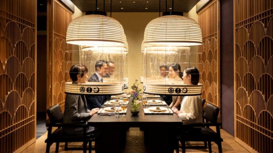 '등롱'으로 안전한 식사를 제공하는 료칸의 디너타임?