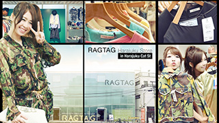USED FASHION寶庫-RAGTAG 原宿店-