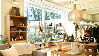 Japanese style interior shop ACTUS