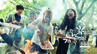 ♪ International Exchange & BBQ at Musashino University