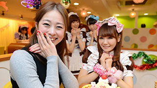 Welcome Home, Master!^^ Maids at @Home Cafe in Akihabara