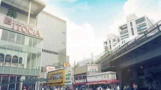 JR 유라쿠초역앞 쇼핑몰   유라쿠초 이토시아 (ITOSHIA)