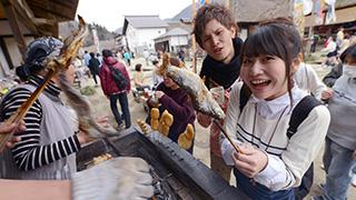 傳說中用青蔥當筷子吃蕎麥麵的地方