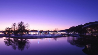 The Mezmorizing lights of the Beautiful Karuizawa Shopping Mall