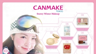CANMAKEs Snowy Winter Makeup will Blast you with Beauty!