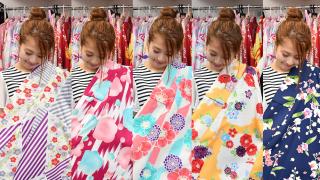 AIWAFUKU | Louez votre Propre Kimono ou Yukata à Asakusa!