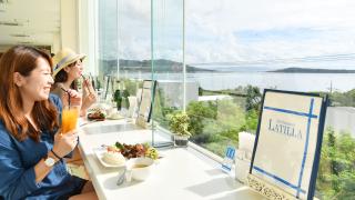 靠近美麗海水族館的地中海風格沖繩海景餐廳!! Cafe Restaurant La Tilla~