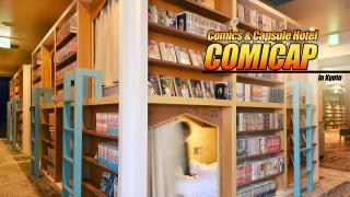 Khách sạn Comics & Capsule ở Kyoto