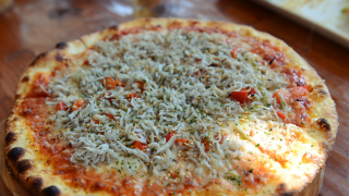 TOP JAPANESE FOOD★ Whitebait Pizza in Enoshima
