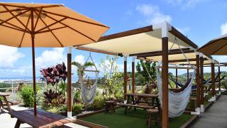 充滿南國情調的吊床主題咖啡廳EARTH HAMMOCK CAFÉ