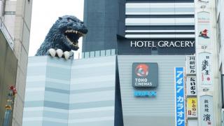 日本文化體驗★哥吉拉現身的日本電影院 TOHO CINEMAS 新宿