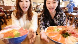 北海道观光推荐★去札幌中央批发市场品尝美味海鲜盖饭