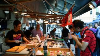 """日本旅游推荐★东京都心地的日本厨房""""筑地市场"""""""