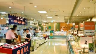 新宿小田急百貨的地下美食街