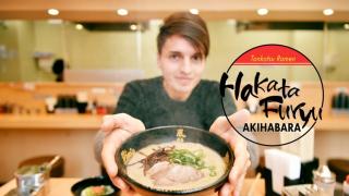 Tokyo Famous Tonkotsu Ramen Restaurant Hakata Furyu (博多風龍) in Akihabara
